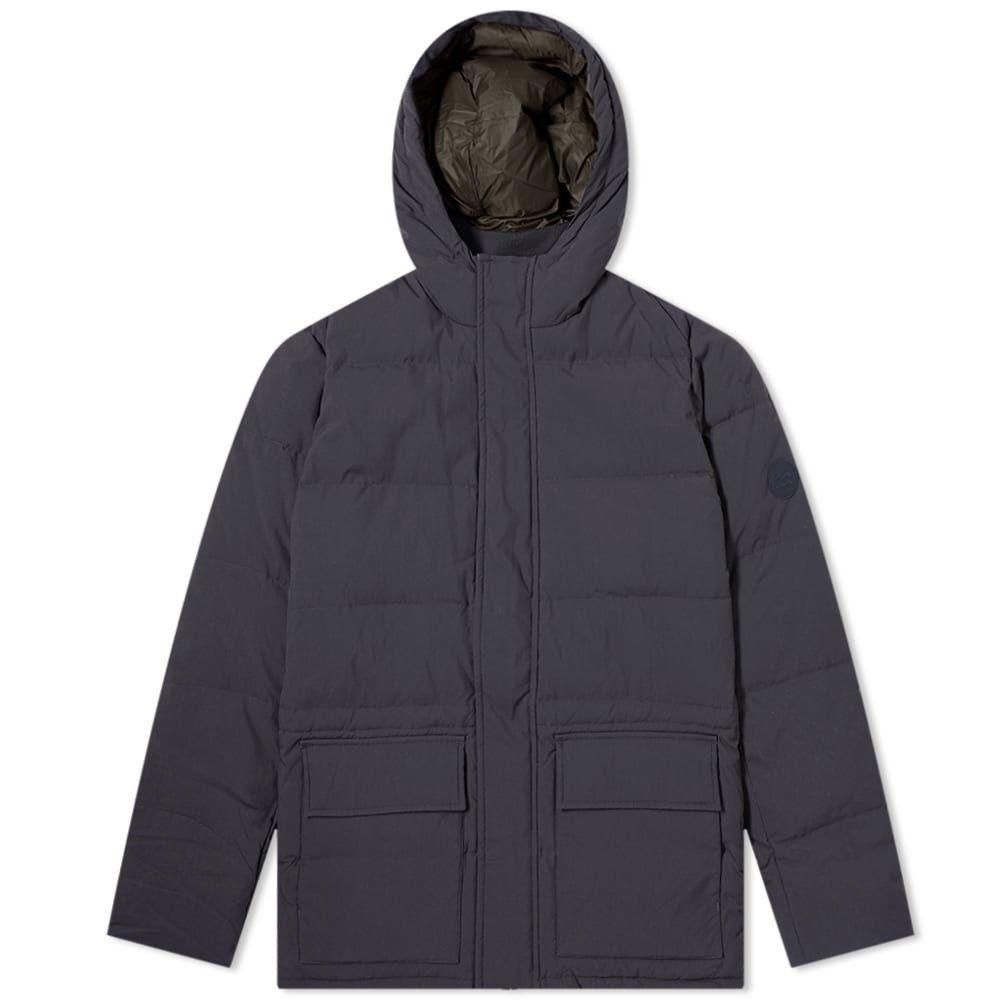 ノースプロジェクト Norse Projects メンズ ダウン・中綿ジャケット アウター【willum dry nylon down jacket】Dark Navy