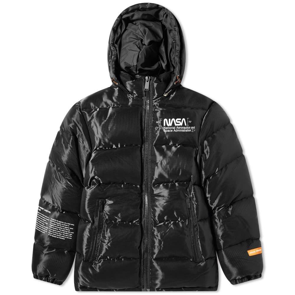 ヘロン プレストン Heron Preston メンズ ジャケット アウター【nasa space jacket】Black