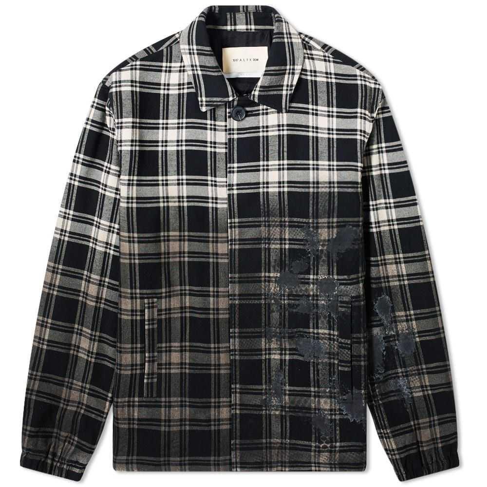 アリクス 1017 ALYX 9SM メンズ スーツ・ジャケット アウター【plaid blazer】Black Plaid