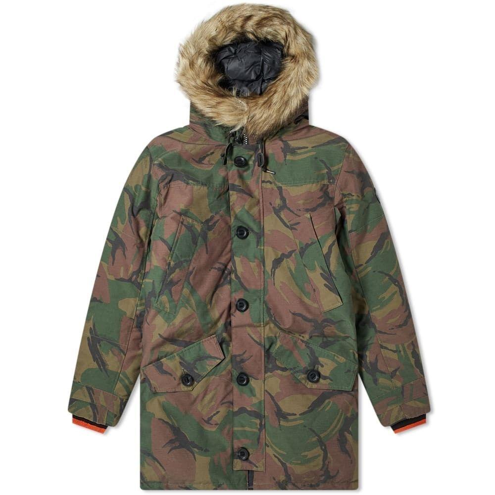 ラルフ ローレン Polo Ralph Lauren メンズ コート アウター【annex parka jacket】British Elmwood Camo