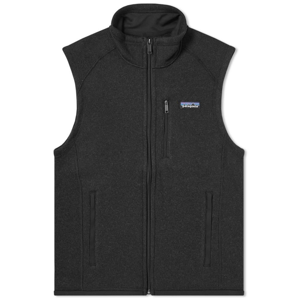 パタゴニア Patagonia メンズ ベスト・ジレ トップス【better sweater vest】Black