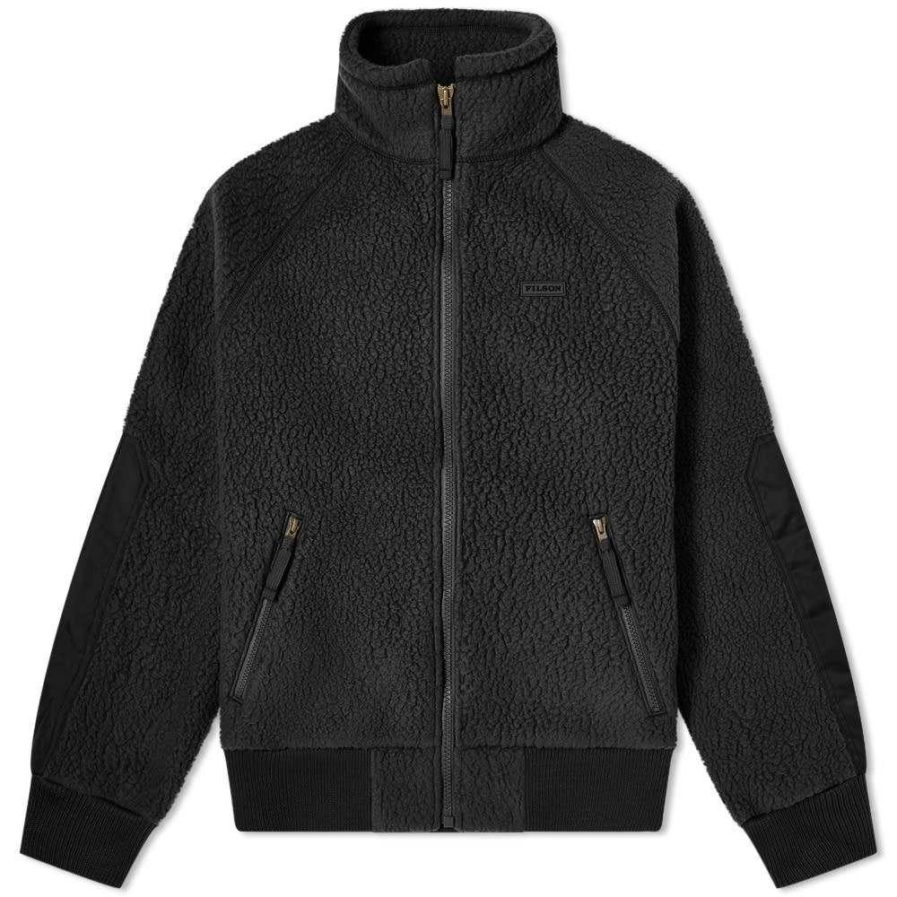 フィルソン Filson メンズ フリース トップス【sherpa fleece jacket】Black