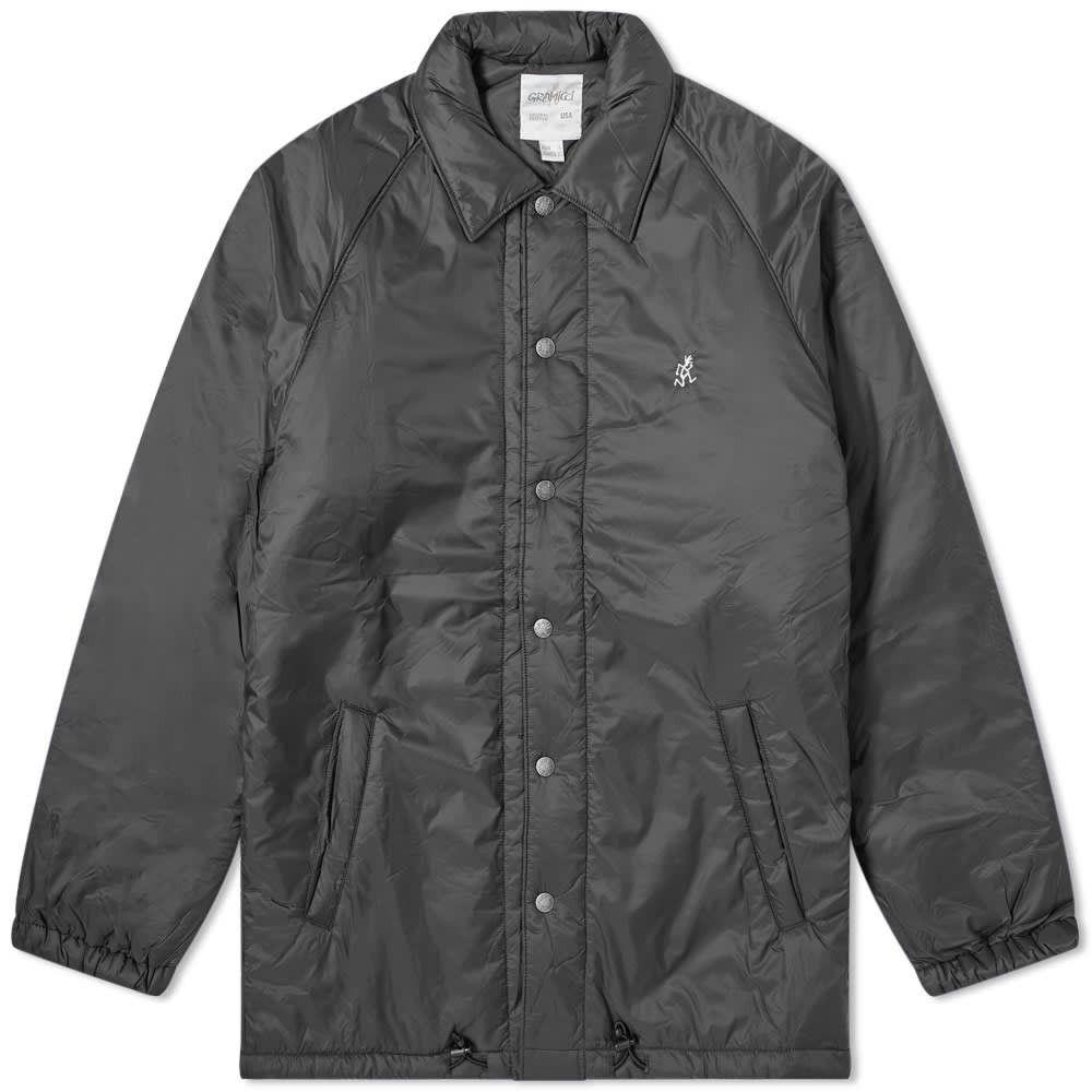 グラミチ Gramicci メンズ ジャケット コーチジャケット アウター【padding coach jacket】Black