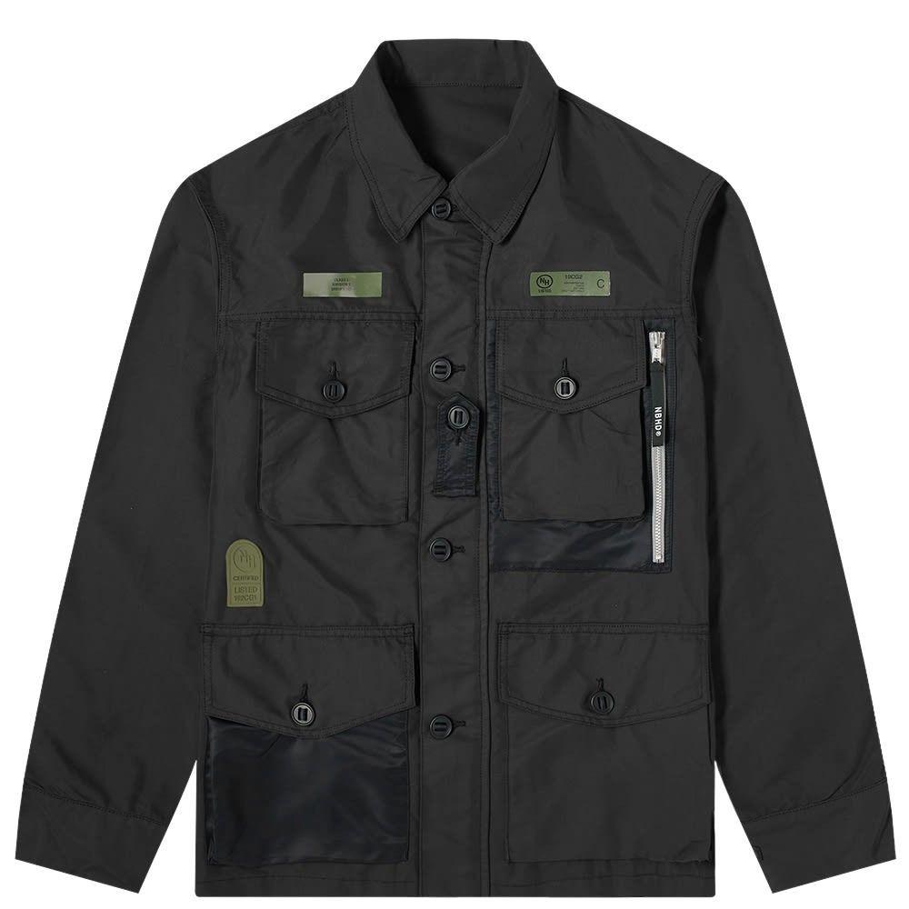ネイバーフッド Neighborhood メンズ ジャケット アウター【smock jacket】Black