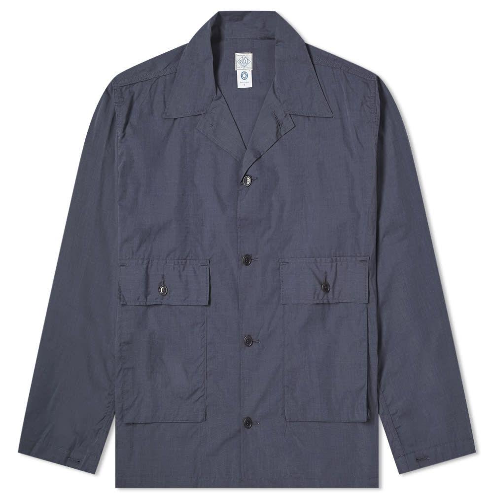 ポストオーバーオールズ Post Overalls メンズ ジャケット アウター【walkabout chore jacket】Navy/Grey
