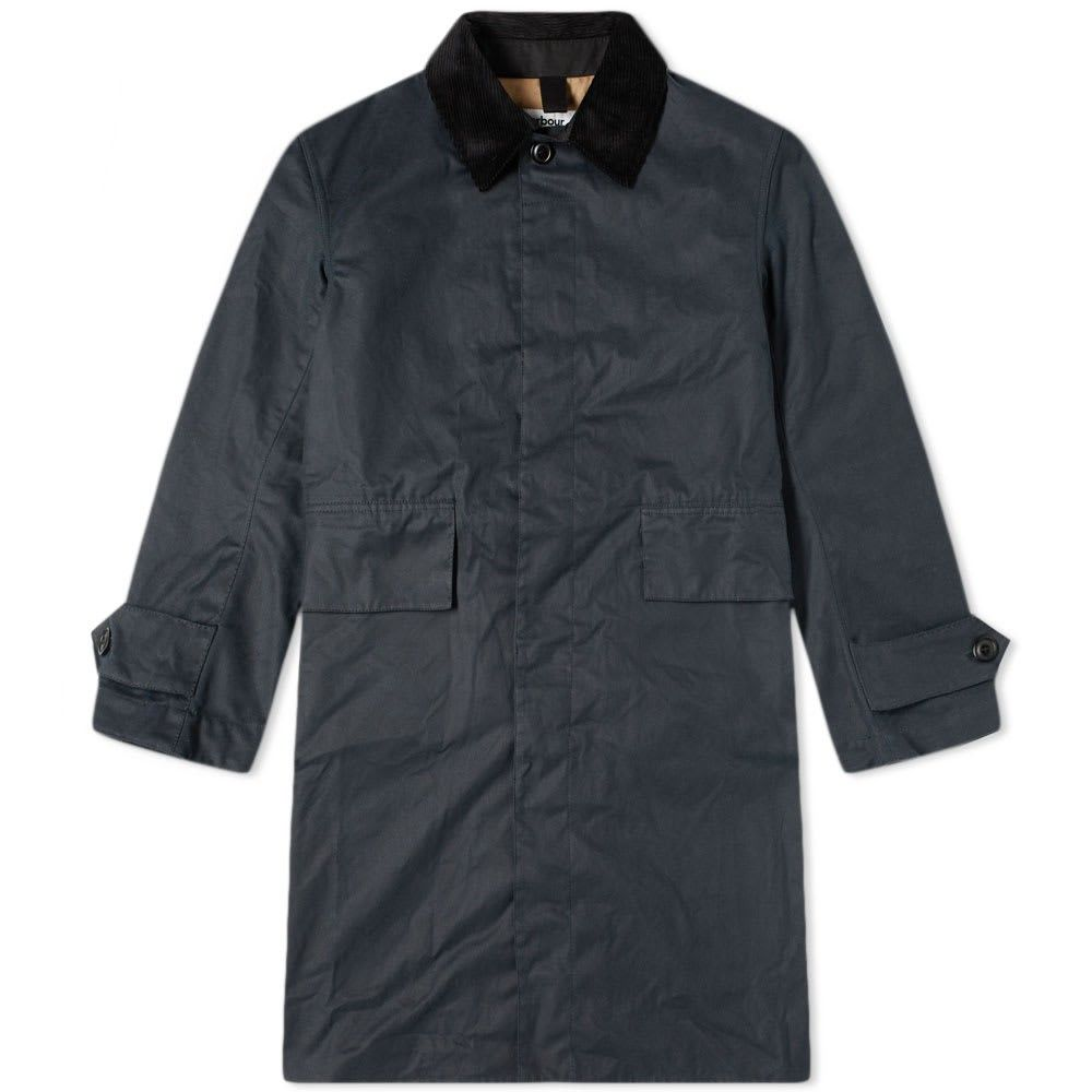 バブアー Barbour メンズ ジャケット アウター【x margaret howell a73 waxed cotton jacket】Navy