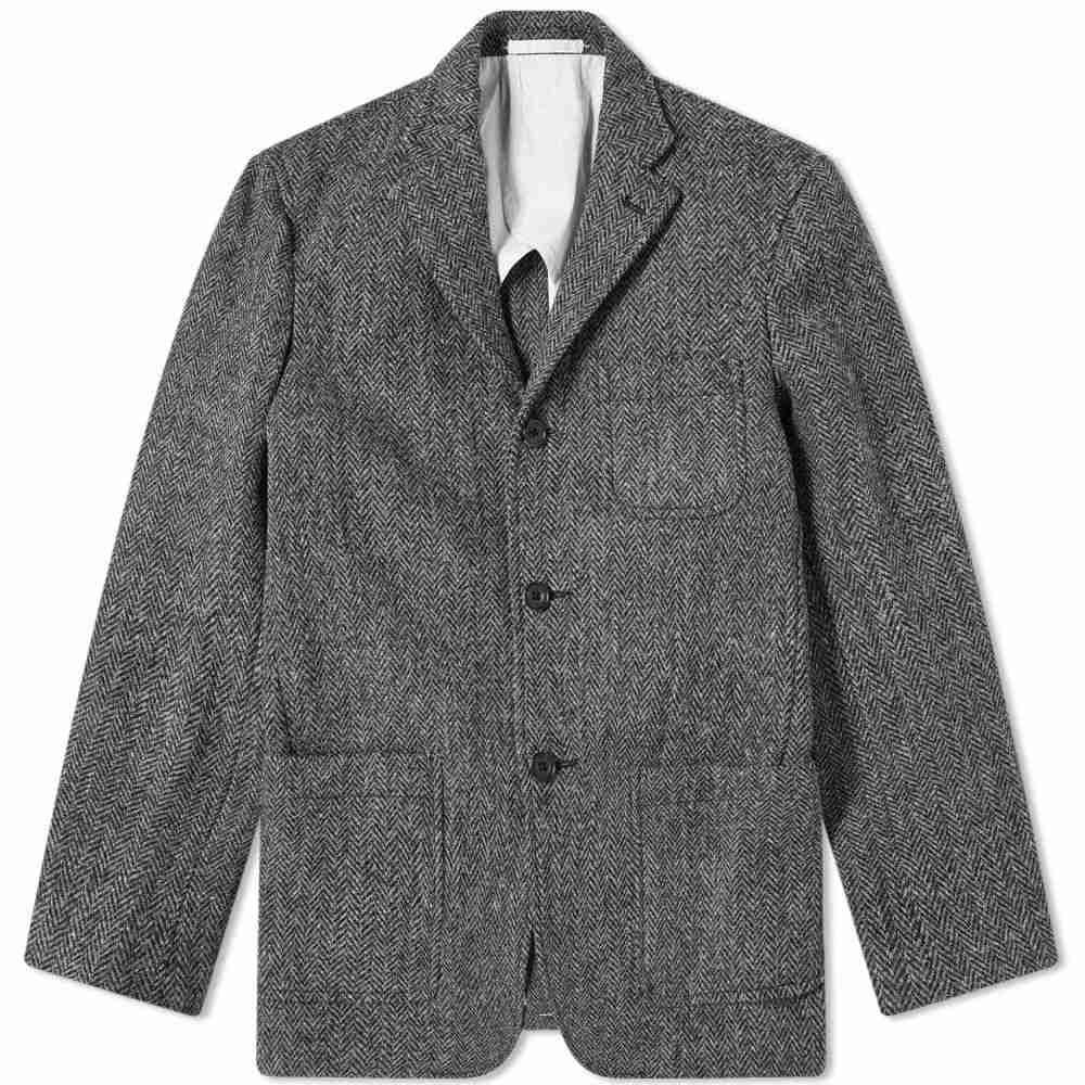 ビームス プラス Beams Plus メンズ ジャケット アウター【harris tweed jacket】Grey