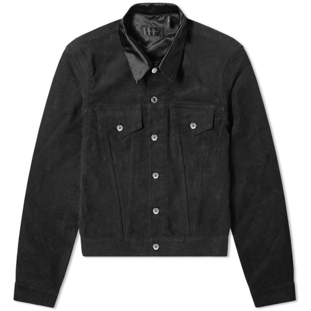 ヘルムート ラング Helmut Lang メンズ ジャケット アウター【moleskin trucker jacket】Black
