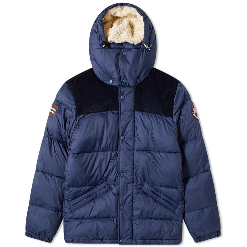 ナパピリ Napapijri メンズ ダウン・中綿ジャケット アウター【antero puffer jacket】Insignia Blue