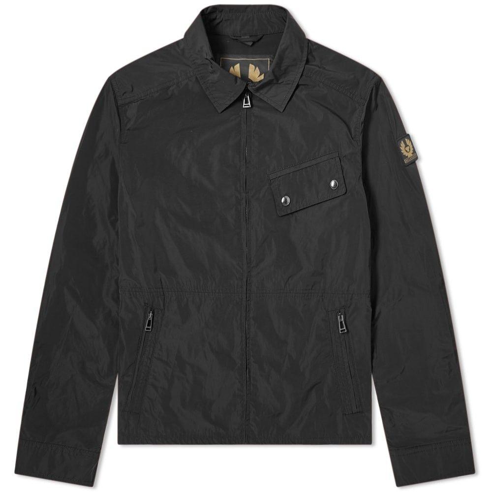 ベルスタッフ Belstaff メンズ ジャケット アウター【camber nylon zip jacket】Black