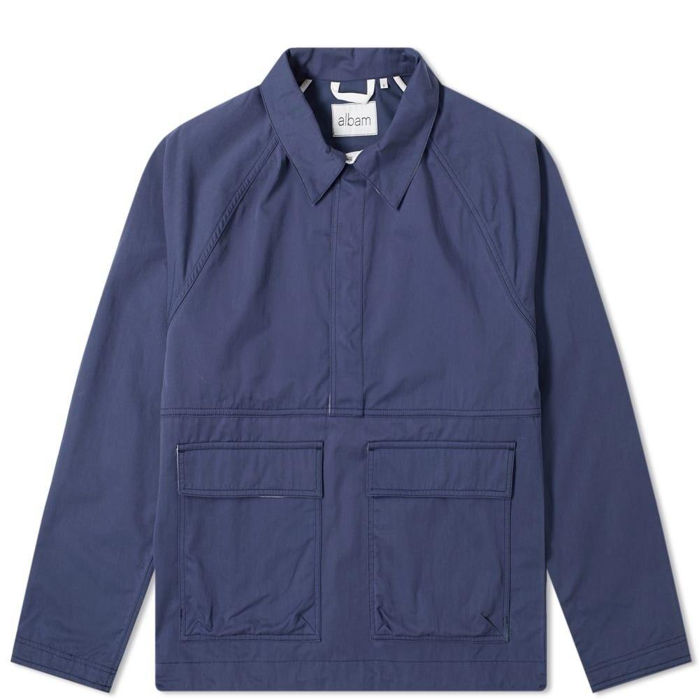 アルバム Albam メンズ ジャケット アウター【density recon sailing popover jacket】Navy