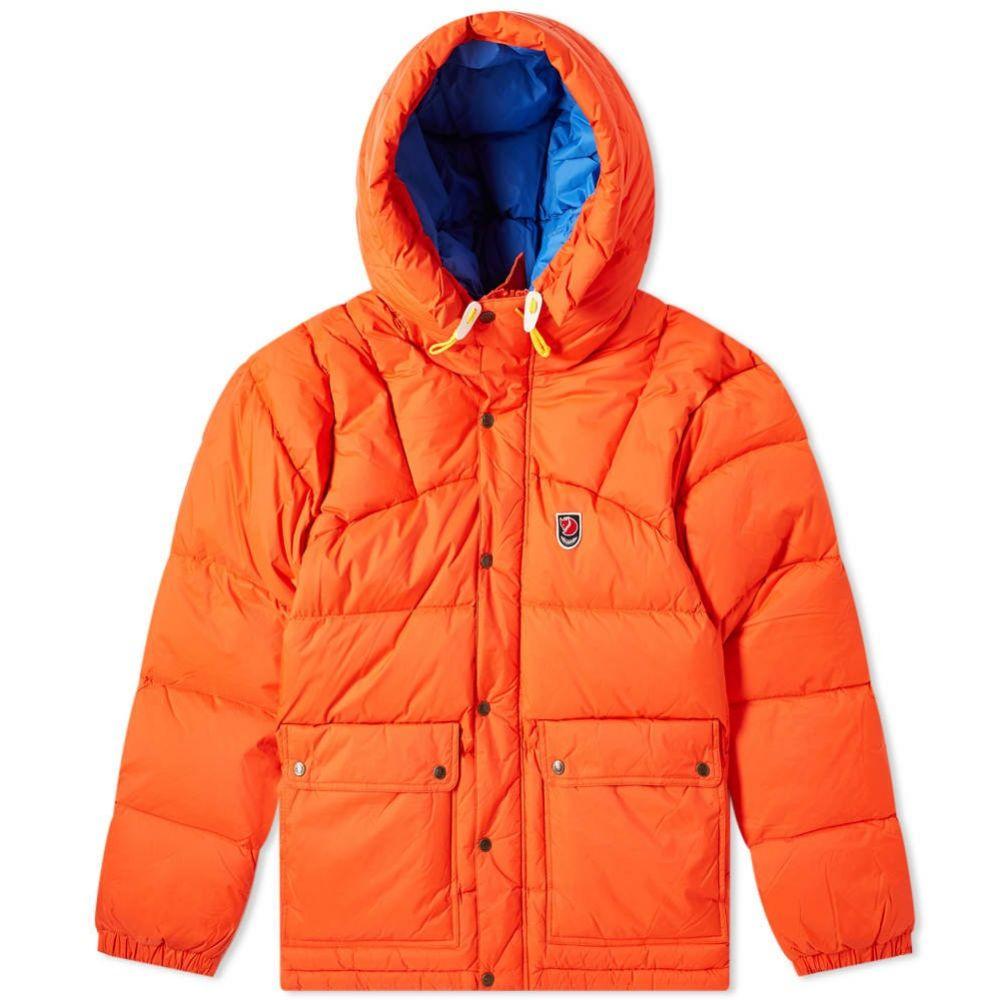 フェールラーベン Fjallraven メンズ ダウン・中綿ジャケット アウター【expedition down lite jacket】Flame Orange