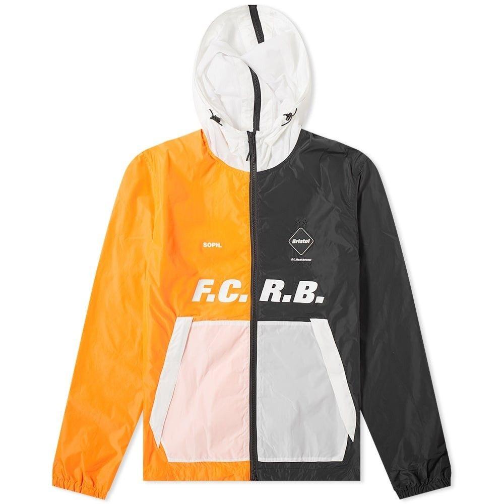 エフシーレアルブリストル F.C. Real Bristol メンズ ジャケット アウター【separate practice jacket】Black/Orange