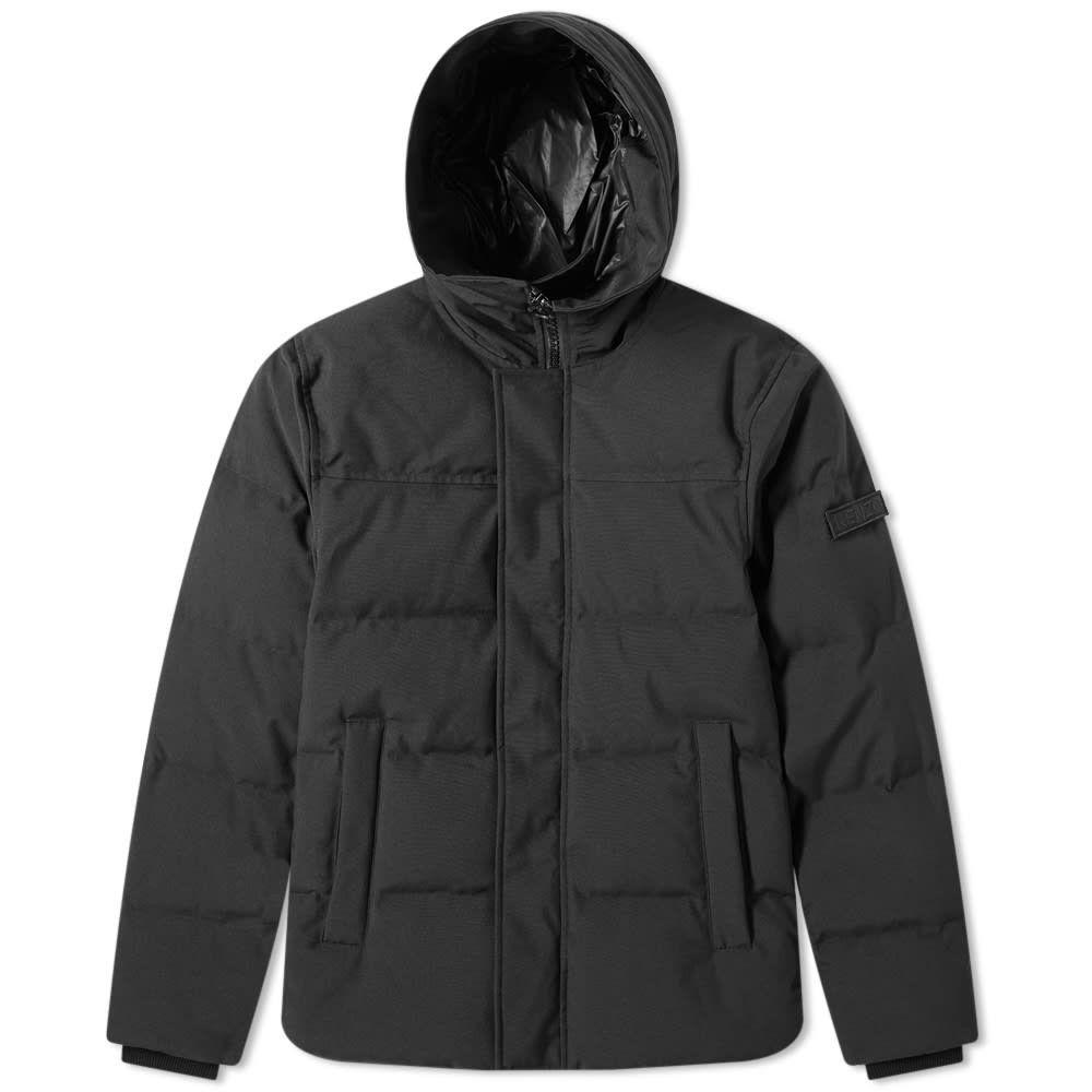ケンゾー Kenzo メンズ ダウン・中綿ジャケット アウター【short down jacket】Black