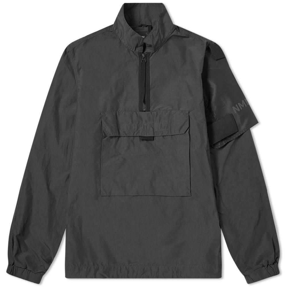 ネーメン Nemen メンズ ジャケット アウター【duster popover jacket】Black