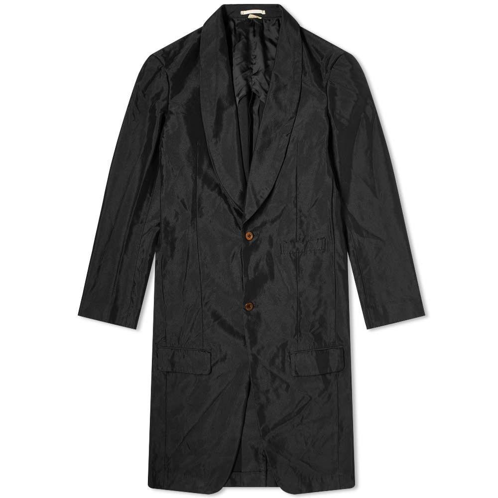 コム デ ギャルソン Comme des Garcons Homme Plus メンズ コート アウター【single breasted overcoat】Black
