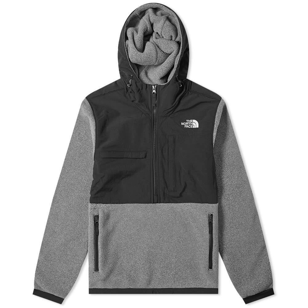 ザ ノースフェイス The North Face メンズ フリース トップス【denali popover fleece jacket】Charcoal Grey Heather
