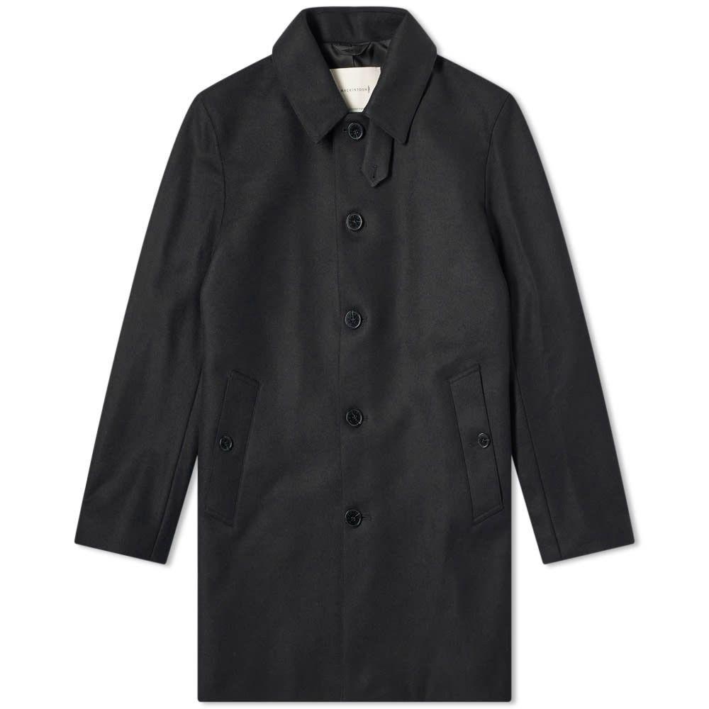 マッキントッシュ Mackintosh メンズ コート カーコート アウター【dunoon wool car coat】Black