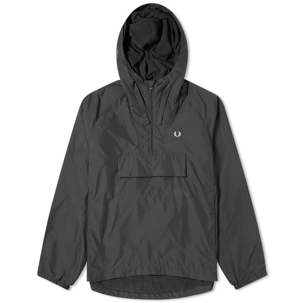 フレッドペリー Fred Perry Authentic メンズ ジャケット アウター【ripstop popover hood jacket】Black