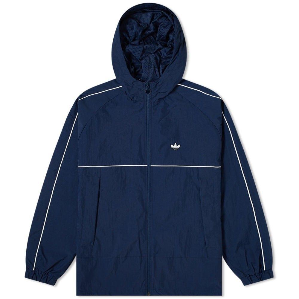 アディダス Adidas メンズ ジャケット シェルジャケット アウター【samstag shell jacket】Night Indigo