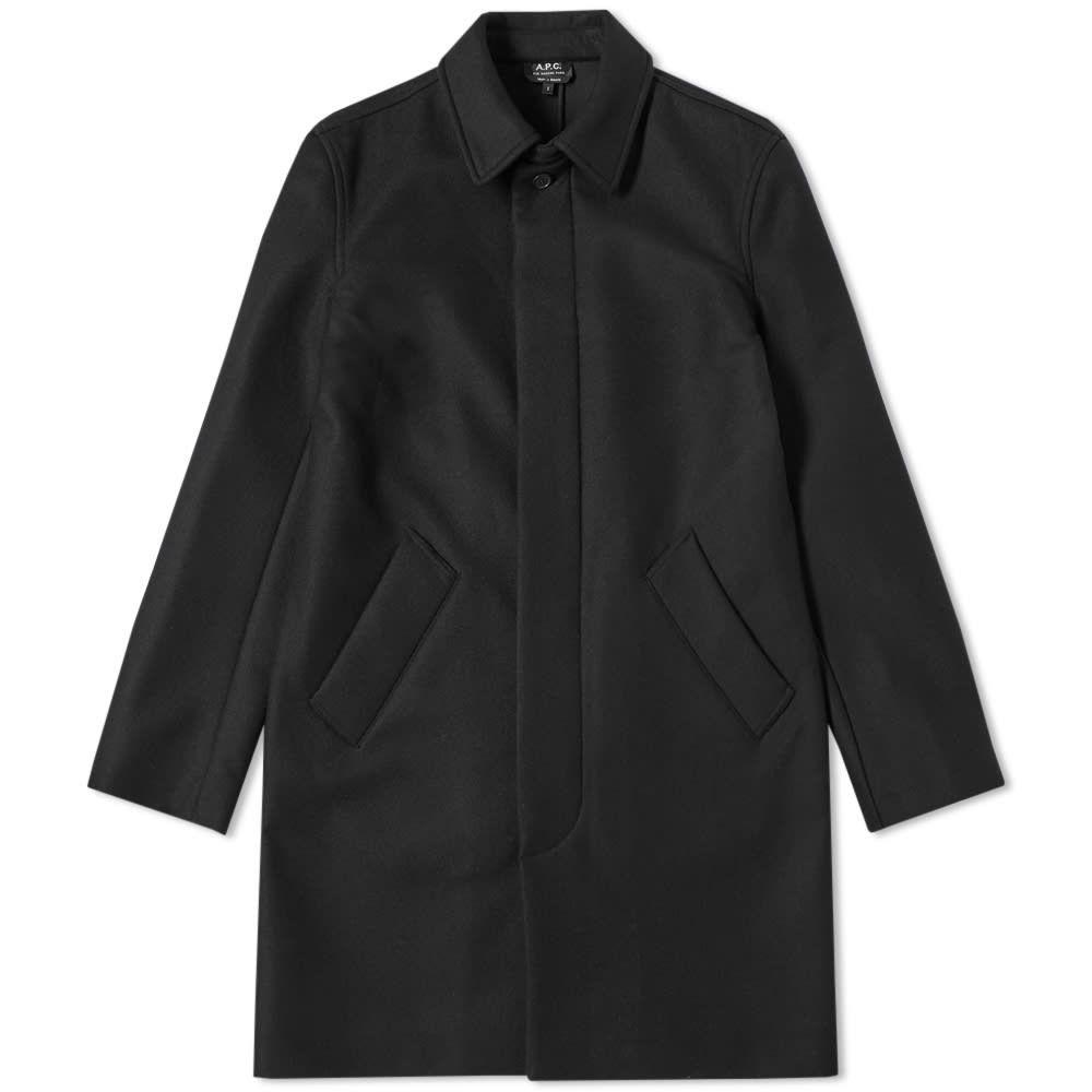 アーペーセー A.P.C. メンズ コート カーコート アウター【wool car coat】Black