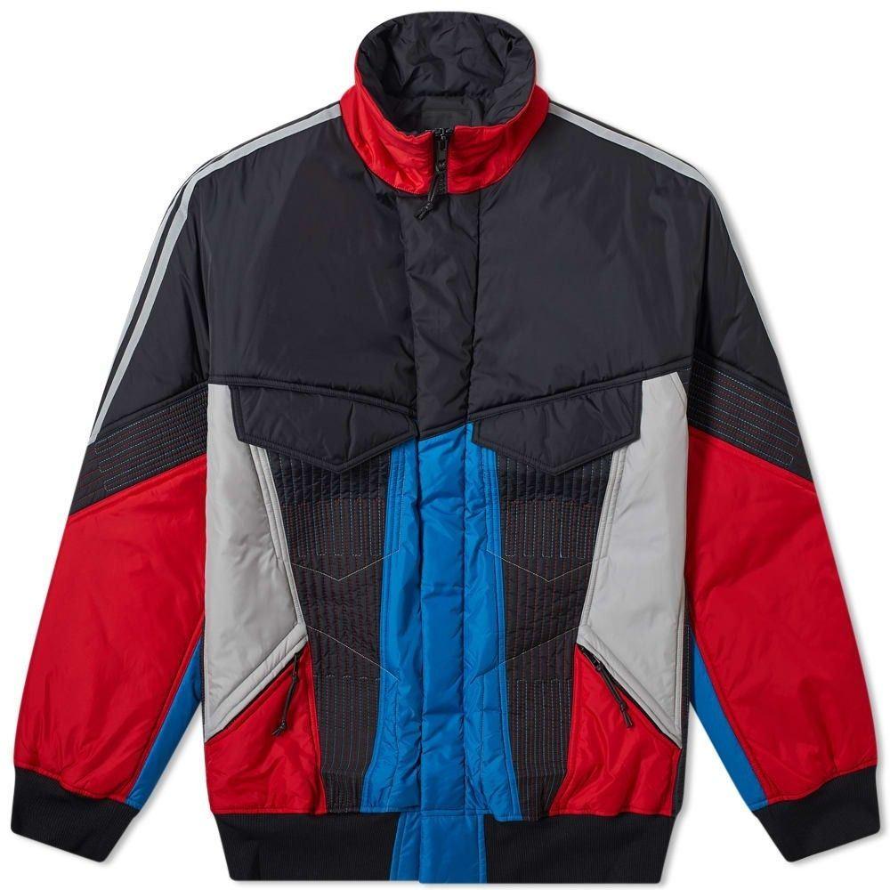 ワイスリー Y-3 メンズ ジャケット シェルジャケット アウター【retro shell jacket】Black/Grey/Yohji Red