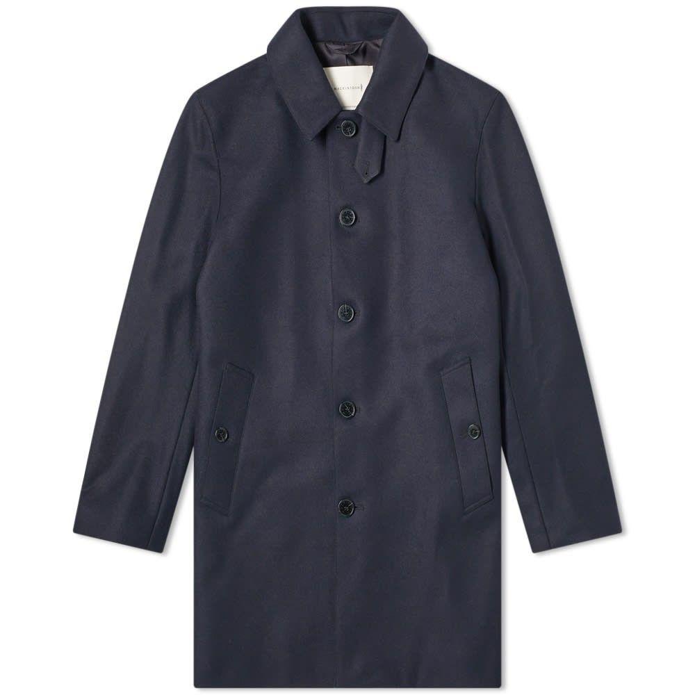 マッキントッシュ Mackintosh メンズ コート カーコート アウター【dunoon wool car coat】Navy