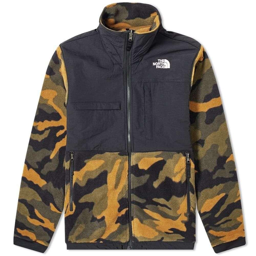ザ ノースフェイス The North Face メンズ フリース トップス【denali fleece jacket】Burnt Olive/Green Camo