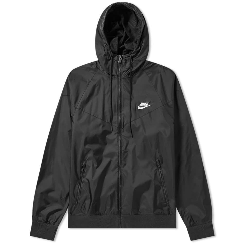 ナイキ Nike メンズ ジャケット アウター【windrunner jacket】Black/Sail