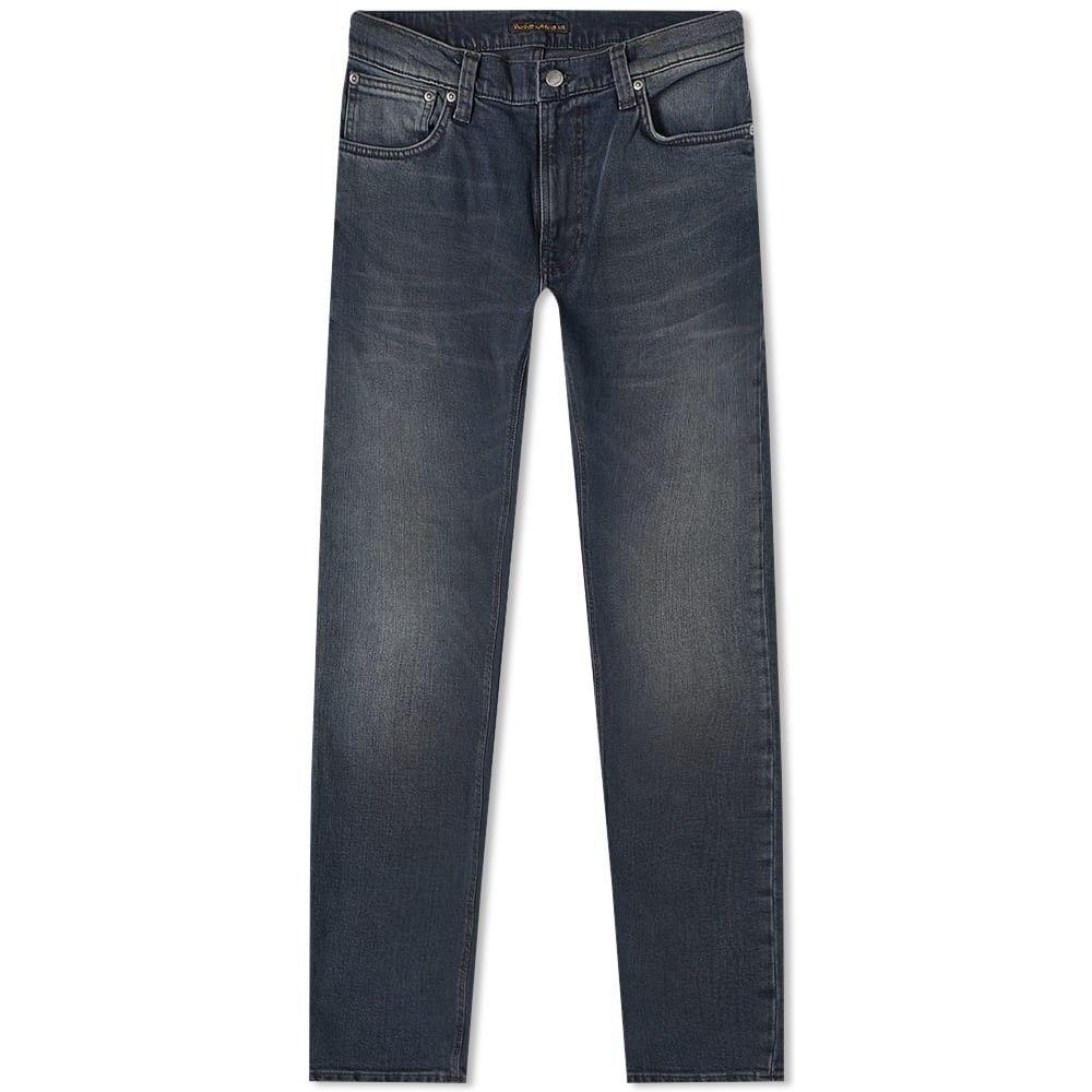 ヌーディージーンズ Nudie Jeans Co メンズ ジーンズ・デニム ボトムス・パンツ【nudie thin finn jean】Blackened Blues
