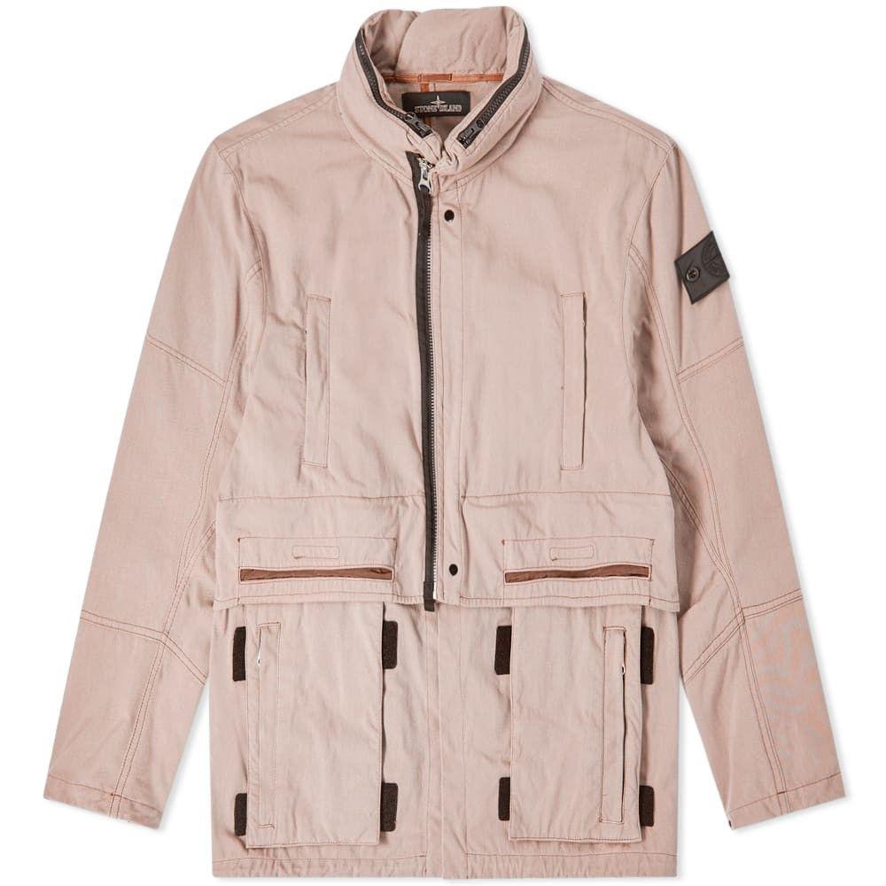 ストーンアイランド Stone Island Shadow Project メンズ ジャケット アウター【hollow core concealed hood jacket】Rose Quartz