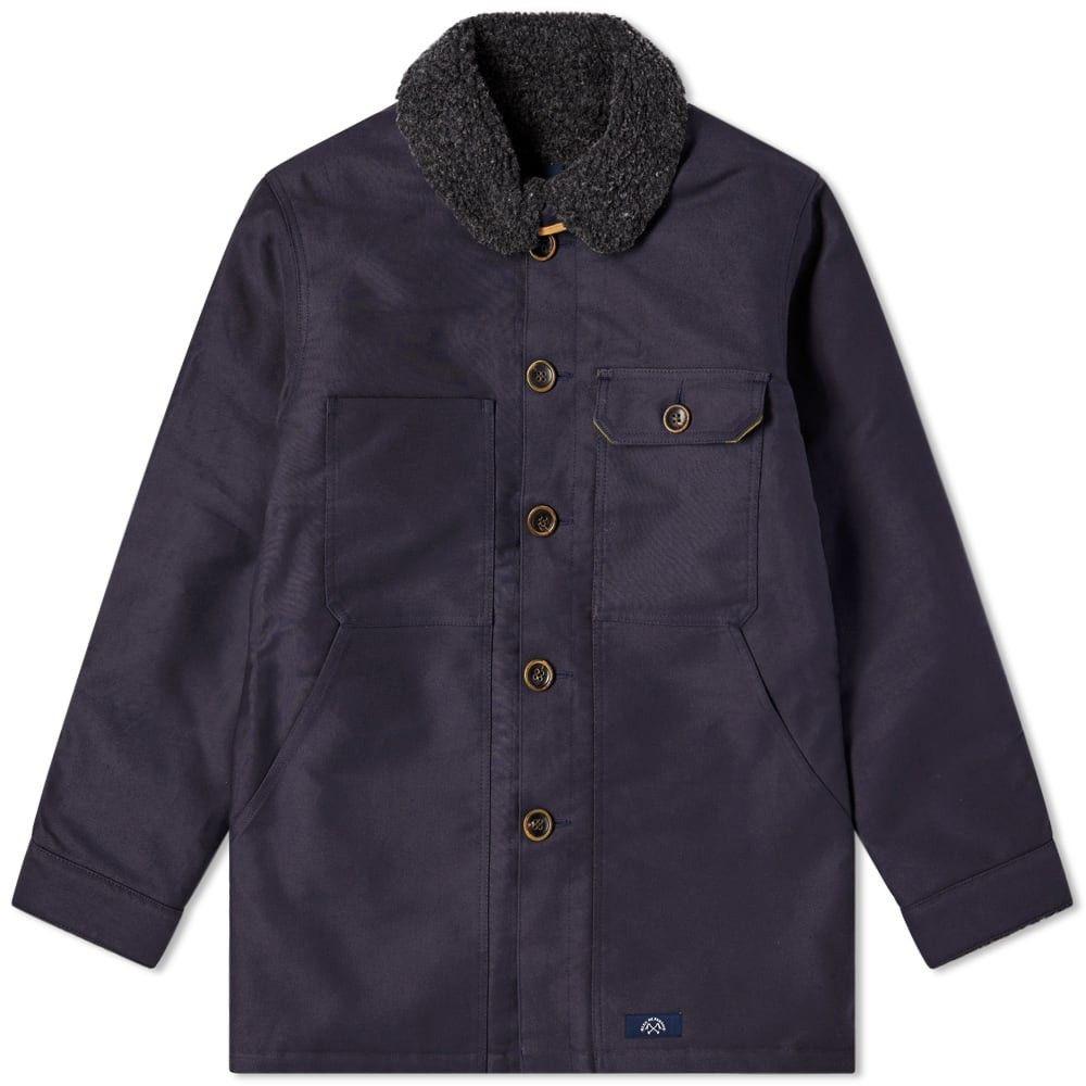 ブルー ドゥ パナム Bleu de Paname メンズ ジャケット アウター【double counter jacket】Navy