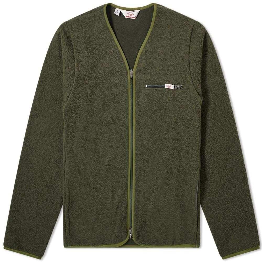 バテンウェア Battenwear メンズ カーディガン トップス【lodge cardigan】Olive