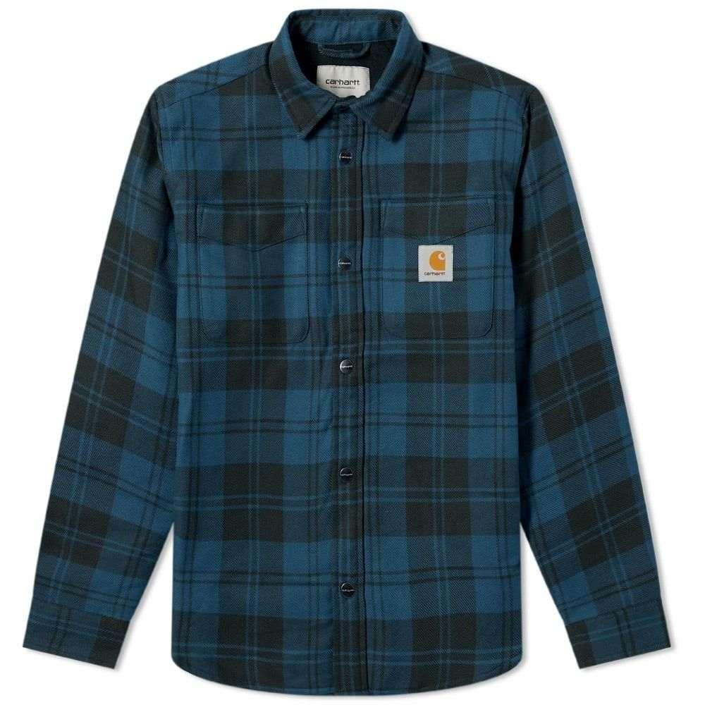 カーハート Carhartt WIP メンズ ジャケット アウター【carhartt pulford shirt jac】Pulford Check/Duck Blue