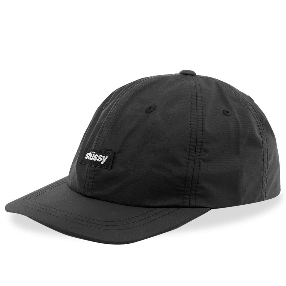 ステューシー メンズ 帽子 キャップ Black 【サイズ交換無料】 ステューシー Stussy メンズ キャップ 帽子【ripstop low pro cap】Black