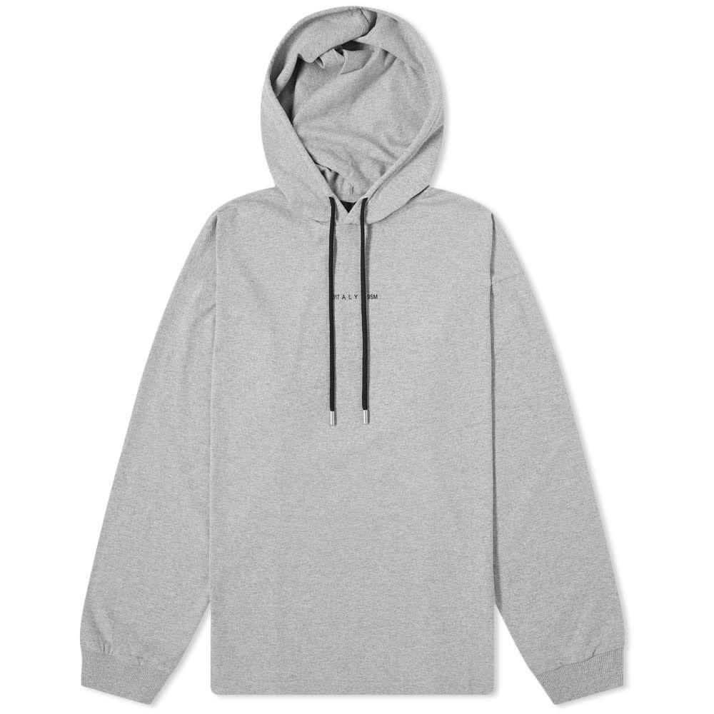 アリクス 1017 ALYX 9SM メンズ 長袖Tシャツ トップス【visual hooded tee】Grey