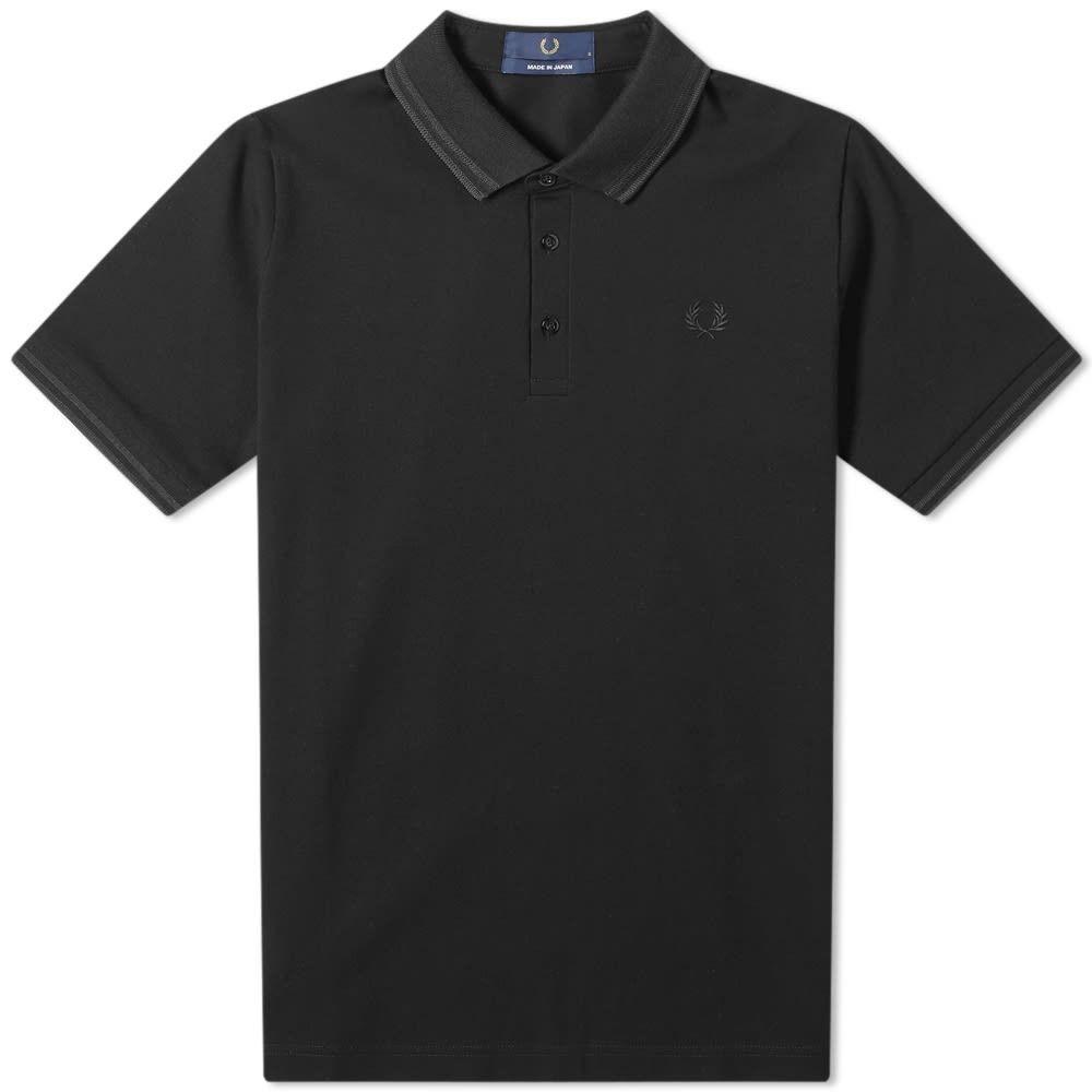 フレッドペリー Fred Perry Authentic メンズ ポロシャツ トップス【made in japan polo】Black/Black