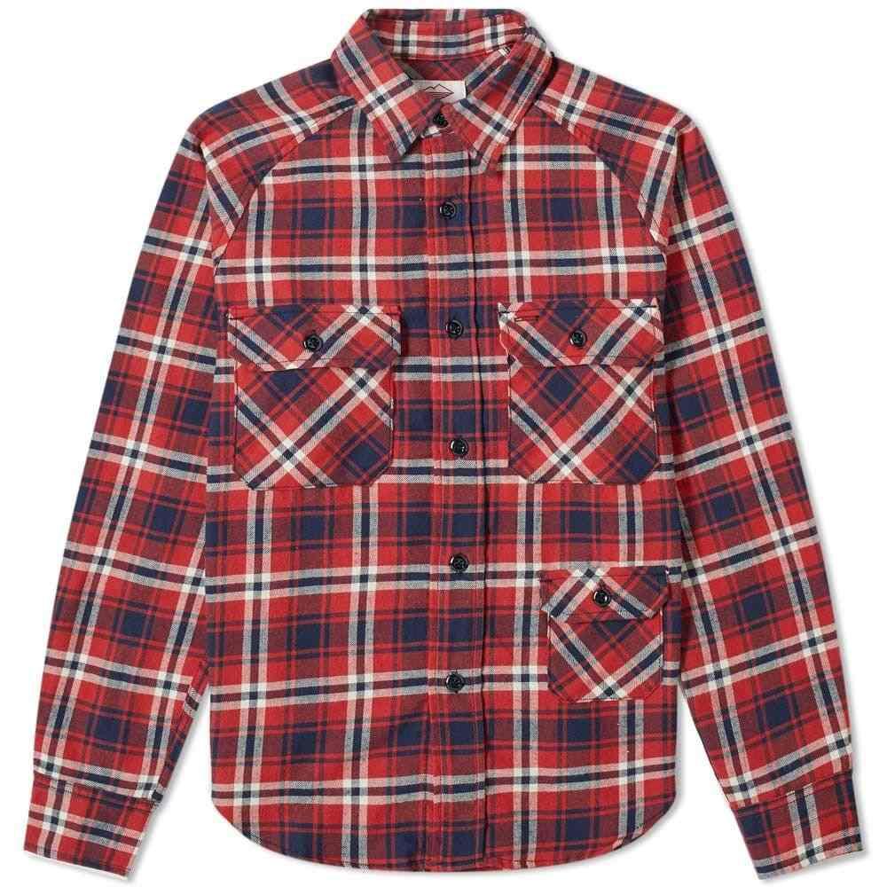 バテンウェア Battenwear メンズ シャツ トップス【camp shirt】Red Plaid