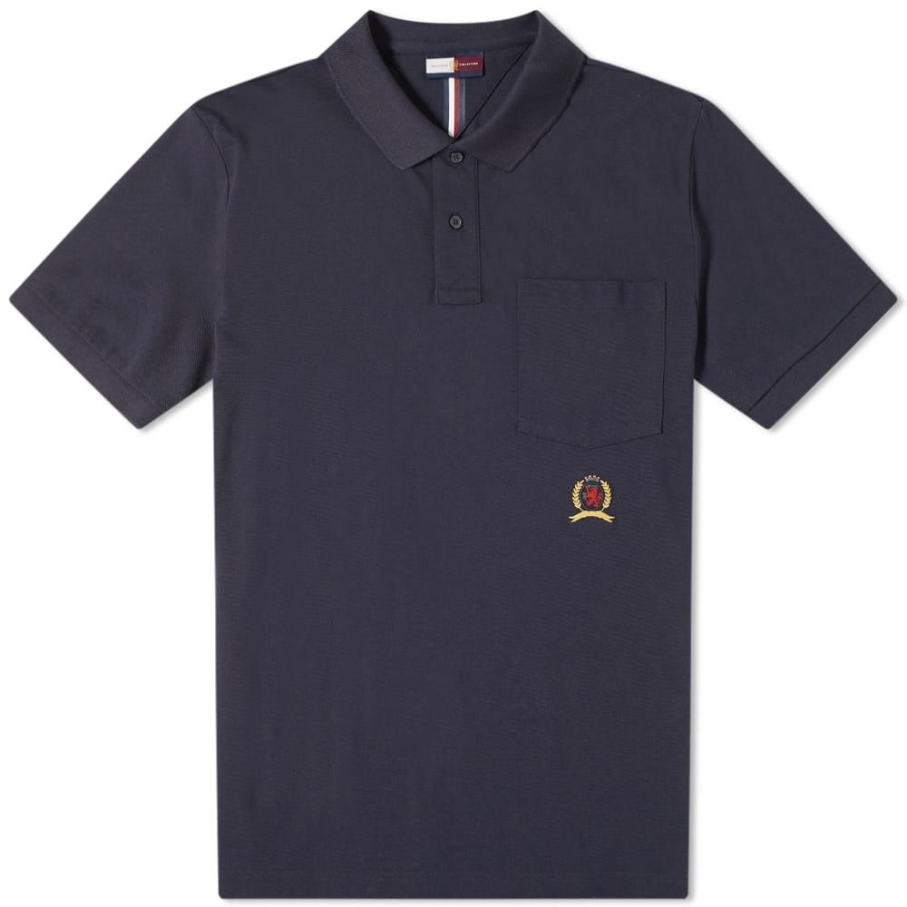 トミー ヒルフィガー Hilfiger Collection メンズ ポロシャツ トップス【crest pocket polo】Dark Navy