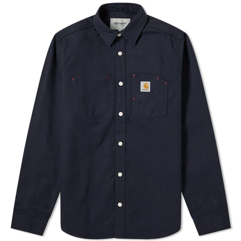 カーハート Carhartt WIP メンズ シャツ トップス【carhartt tony shirt】Dark Navy