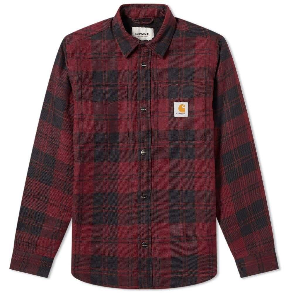 カーハート Carhartt WIP メンズ ジャケット アウター【carhartt pulford shirt jac】Pulford Check/Merlot