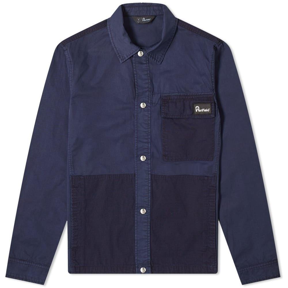 ペンフィールド Penfield メンズ シャツ オーバーシャツ トップス【strongheart overshirt】Navy