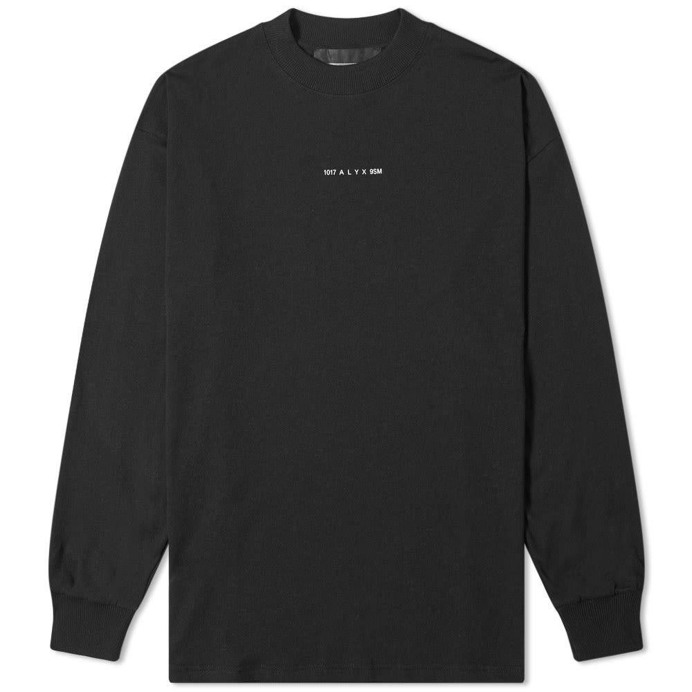 アリクス 1017 ALYX 9SM メンズ 長袖Tシャツ トップス【long sleeve visual tee】Black