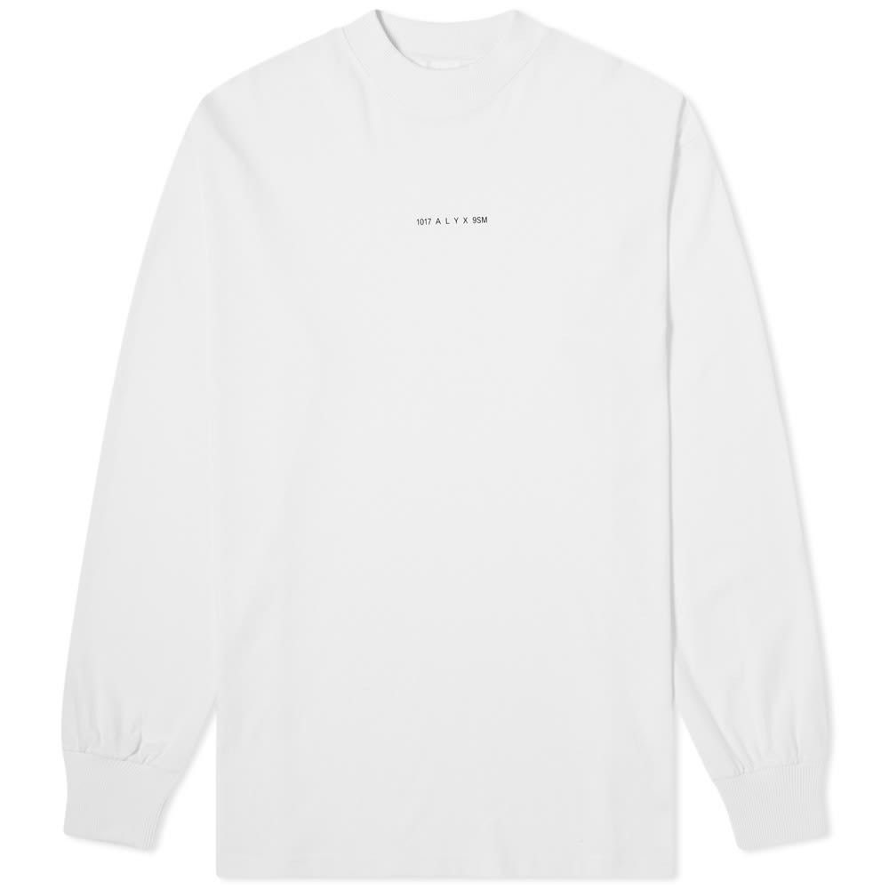アリクス 1017 ALYX 9SM メンズ 長袖Tシャツ トップス【long sleeve visual tee】White