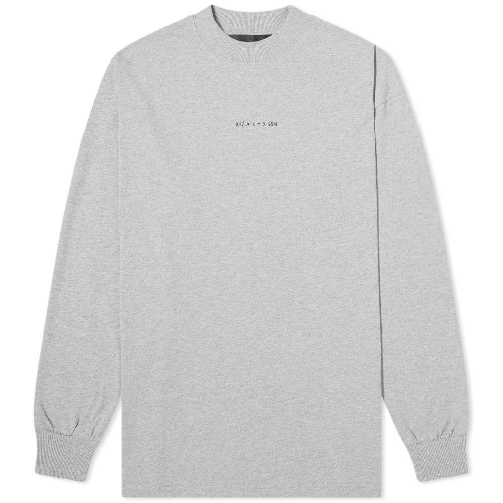 アリクス 1017 ALYX 9SM メンズ 長袖Tシャツ トップス【long sleeve visual tee】Grey