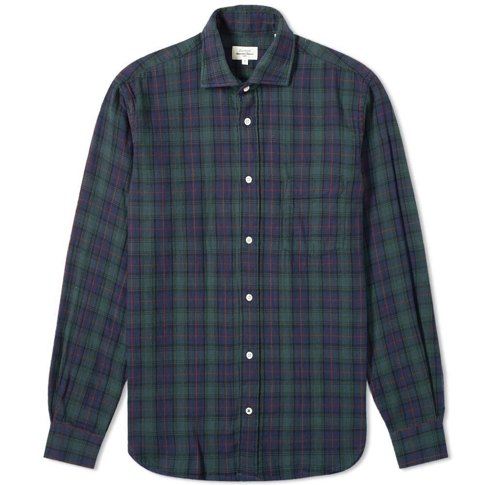 ハートフォード Hartford メンズ シャツ トップス【pal pocket shirt】Black Watch Tartan