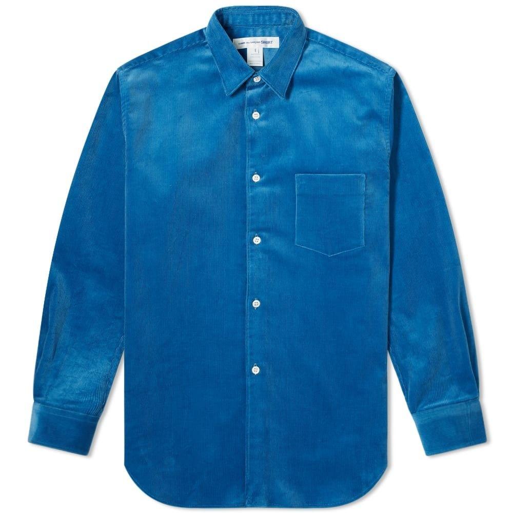 コム デ ギャルソン Comme des Garcons SHIRT メンズ シャツ トップス【corduroy shirt】Blue