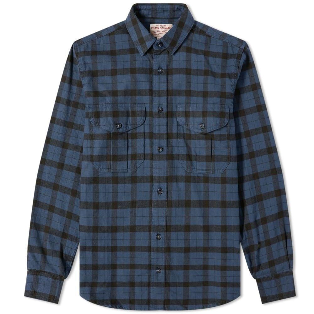フィルソン Filson メンズ シャツ トップス【alaskan guide shirt】Midnight/Black