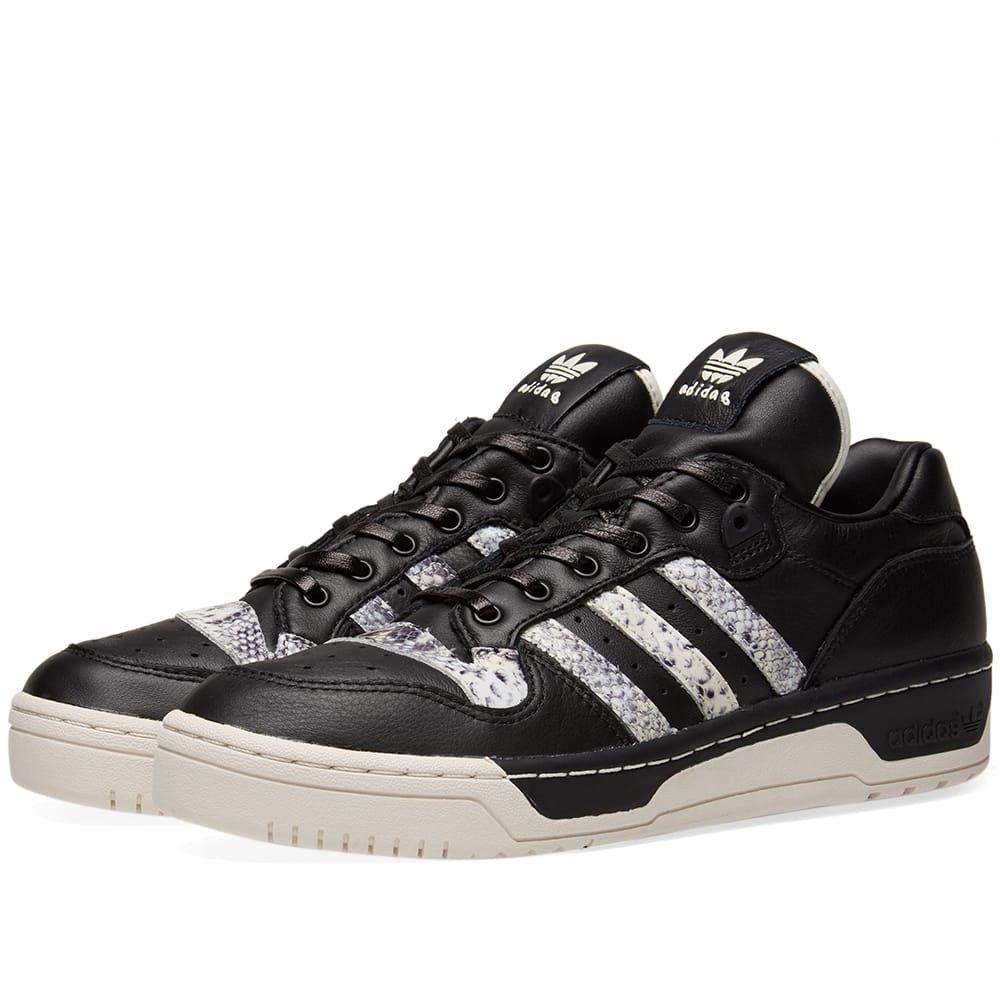 アディダス Adidas メンズ スニーカー シューズ・靴【x united arrows & sons rivalry low】Black/White