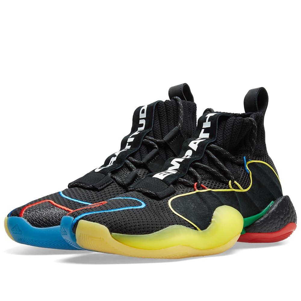 アディダス Adidas Consortium メンズ スニーカー シューズ・靴【adidas crazy byw lvl x pharrell williams 'gratitude & empathy'】Black/Multi